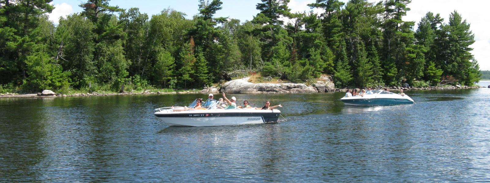 Lake kabetogama boat tours herseth 39 s tomahawk resort for Kabetogama fishing report