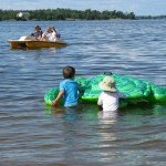 kabetogama lake floating