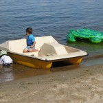 kabetogama lake paddle boat
