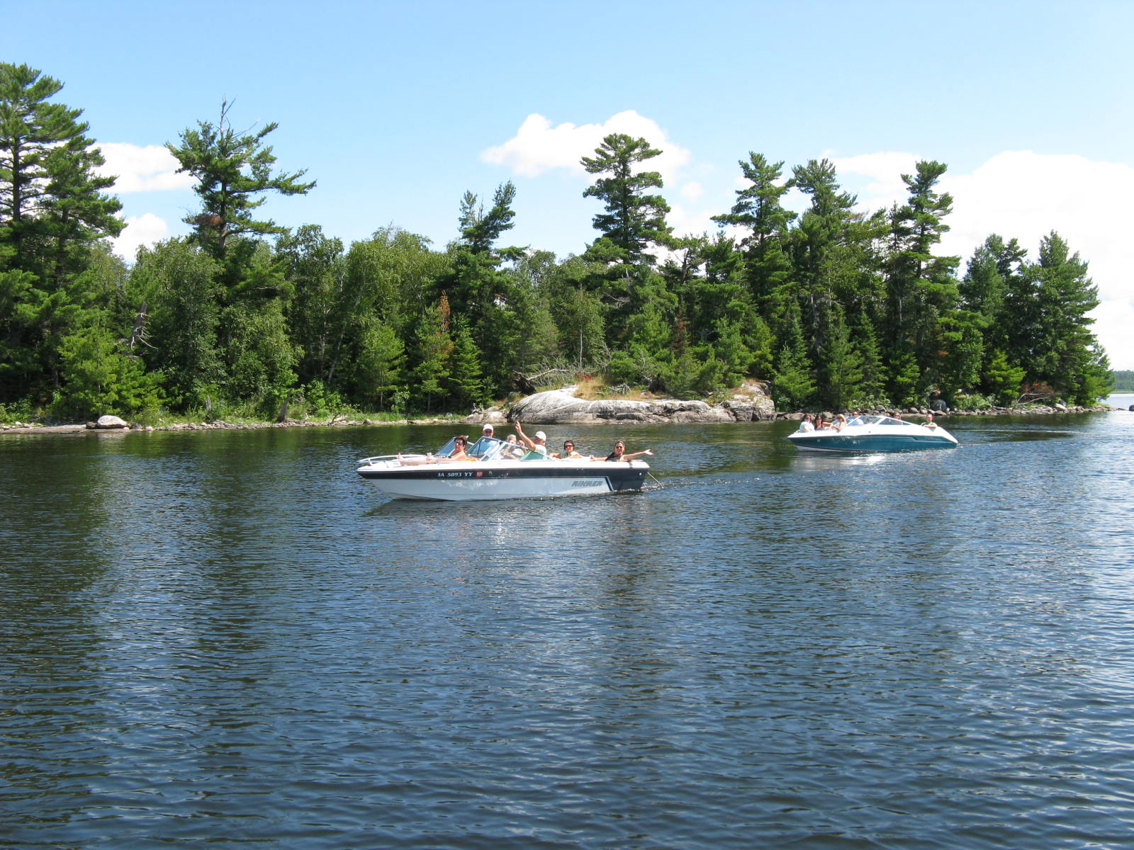 kabetogama lake boating