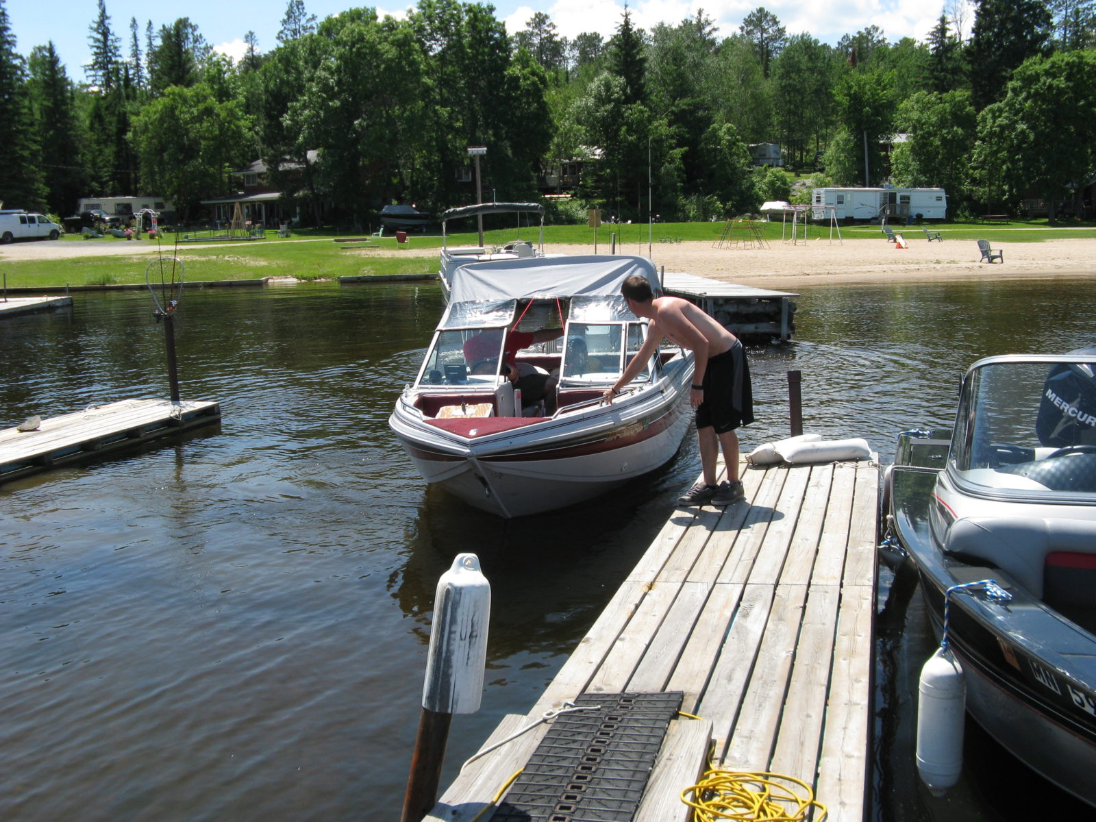 kabetogama lake boat rental