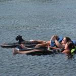 kabetogama lake floating
