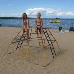 kabetogama lake beach